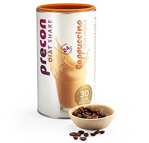 Precon BCM Diät Shake zum Abnehmen – Cappuccino – 24 Portionen (480 g) – Mahlzeitenersatz für eine gewichtskontrollierende Ernährung