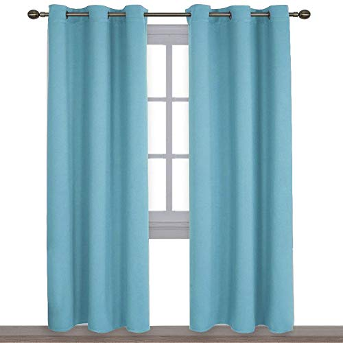 NICETOWN Window Treatment Thermal Insulated Solid Grommet...