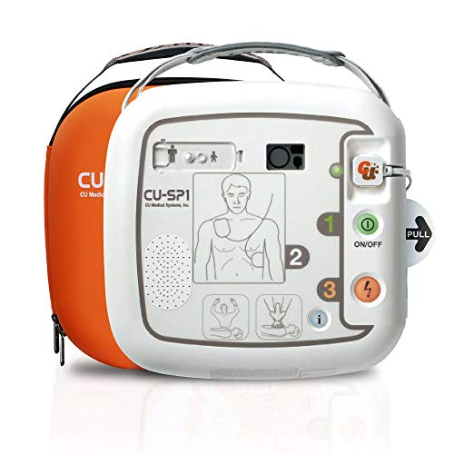 【AED】自動体外式除細動器 CU-SP1(シーユーSP1) キャリングケース付 CUメディカル社 本体+キャリングケー...