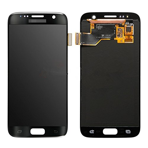 Compatibele Vervangings IPartsBuy LCD-scherm + Touch Screen Digitizer Vergadering Vervanging for Samsung Galaxy S7 / G930 Accessory (Color : Black)