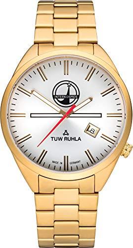 TUW Ruhla Interkosmos 60740-033108 Herrenarmbanduhr Design Highlight