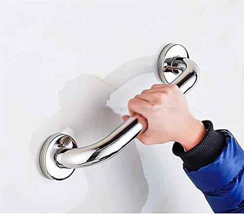 SHOP YJX Edelstahlspiegel Anti-Skid-Duscharmlehne, Dusch-WC, barrierefreie ältere Balance-Griff (Size : 480mm)