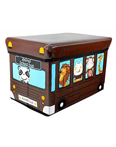 Home Line Puff/Baúl Infantil Plegable para Almacenamiento d