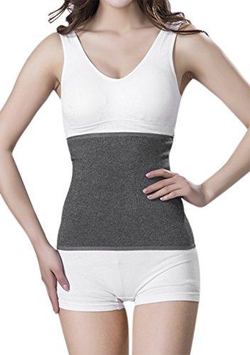 Afinder Rückenwärmer Kaschmir Nierenwärmer Winter Dicken Rückenstützgürtel Elastisch Wärmegürtel Leibwärmer Hüftwärmer Bauch Taille Unterstützung für Damen Herren