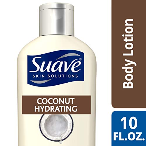 Suave Skin Solutions Body Lotion Coconut Hydrating 10 oz