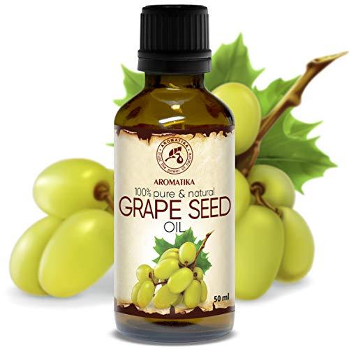 Aceite de Semillas de Uva 50ml - A Presión En Frío - Vitis Vinifera - Italia -...