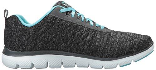 410WMO8FWmL - Skechers Women's Flex Appeal 2.0 Multisport Outdoor Shoes