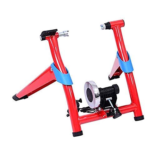 WGFGXQ Entrenador de Bicicleta Plegable magnético Compatible con Bicicleta de 26 a...