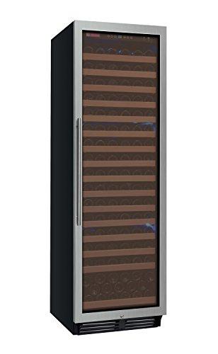 Allavino Wine Refrigerator, 174 Bottle, Stainless Steel,YHWR174-1SR20