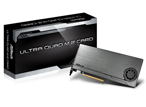 ASROCK M. 2 SSD Upgrade Board Ultra Quad M. 2 Card