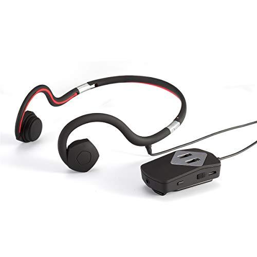 SLTZ Knochenleitung Hörverstärker Taschen-Hör-Unterstützung Digital Voice Enhancer müssen Keine Batterien installieren
