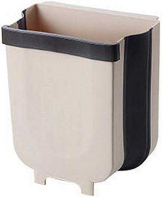 ALSKY 壁掛けゴミ箱,折り畳み式23*24cm
