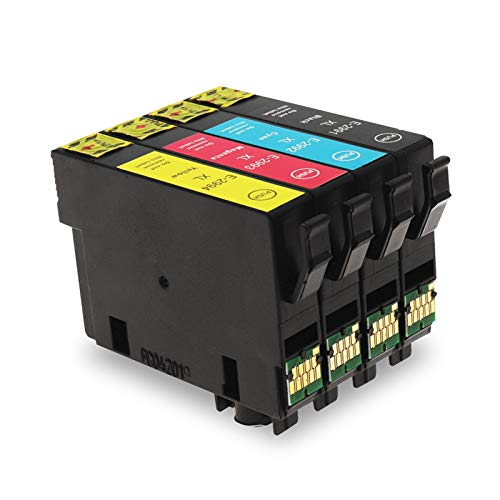 WSCHENG 2 Conjuntos Cartucho de Tinta Compatible 29XL T2991 con un Chip de una Sola Vez con Tinta para EPSON XP-255 XP-257 XP-352 XP-355 XP-452 XP-455