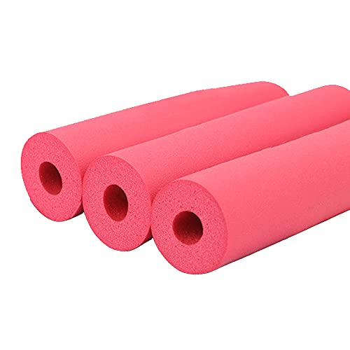 GEREP Isolamento Tubi Acqua, Isolante per Tubature Condizionatore, Isolante in Schiuma per Tubi, Spessore Parete 7mm / Red / ID32mm