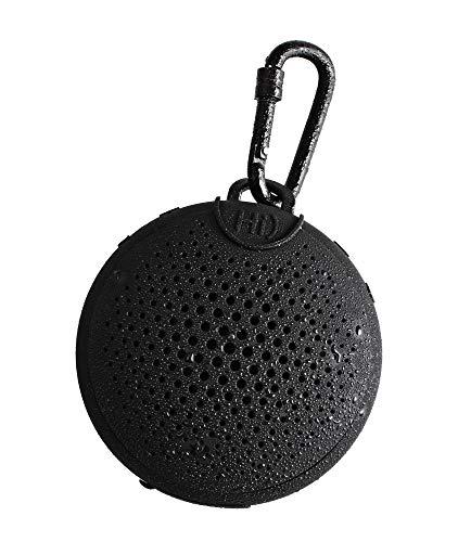Boompods Aquablaster - Altavoz inalámbrico Bluetooth, con Alexa integrada, Exterior 11 cm Negro