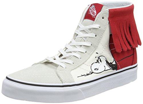 Vans SK8-Hi Moc (Peanuts) Dog House/Bone Women's Skate Shoes Size 5