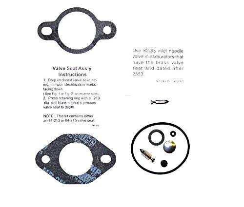 Carburetor Overhaul Repair Kit Compatible with Kohler Parts 24 757 03-S Compatible with Models CH18-CH25 CH620-CH740 LH685-LH755