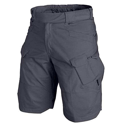 Helikon Urban Tactical Shorts 12zoll, Shadow Grau, 37-39 (X-Large)