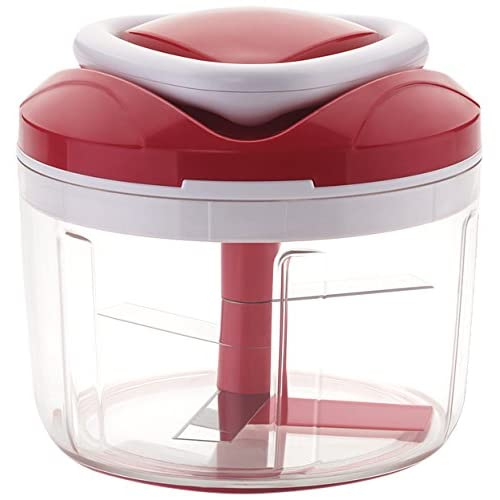 Ganesh Chopper Vegetable Cutter, Red (650 ml)