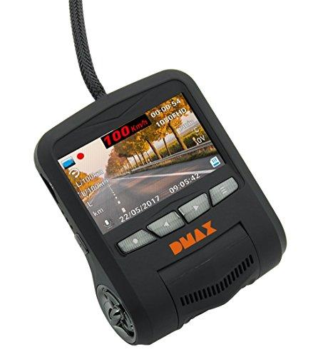 dmax Full HD Vehículo Dash Cámara con Transferencia de Datos per OBD Conector