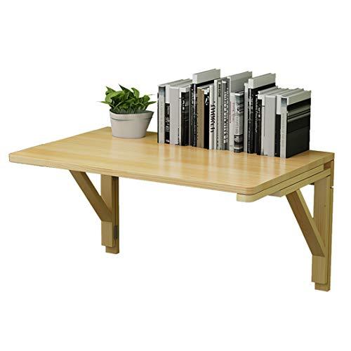 MMNN An der Wand befestigter Tisch, schwebender Schreibtisch, schwebender Tisch Platzsparender Hängetisch für das Arbeitszimmer, für die Küche im Büro zu Hause, kleine Schreibtische für kleine Räume
