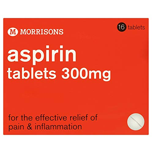 Morrisons Aspirin Tablets, Pack of 16