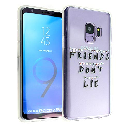 CASEMPIRE Galaxy S9 Stranger TV TPU Case Shock Proof Never Fade Slim Fit Cover for Galaxy S9 Friends Don't Lie