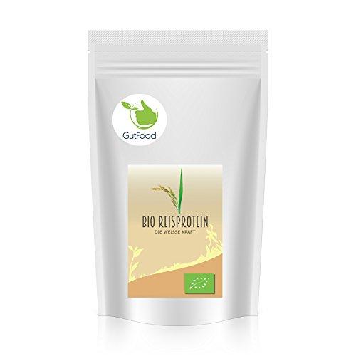 Goldener Zweig – Bio Reisprotein Pulver – 1kg - veganes Pflanzenprotein - gut für Low Carb, Atkins, Paleo, und Keto Ernährung
