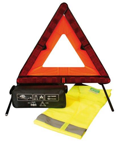 CORA 000126908 Kit di Sicurezza Triangolo Nano e Gilet