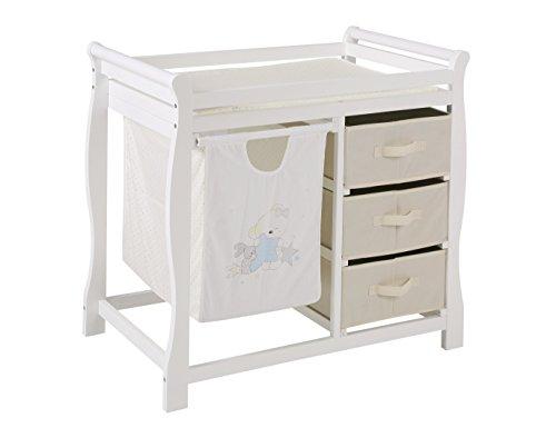fixi Master Baby wickelk ombination, cambiador, cambiador de color blanco