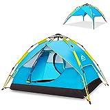 Hewolf Tenda da Campeggio Igloo Automatica 2-3 Persone Tenda Pop-up Impermeabile Tenda Fam...