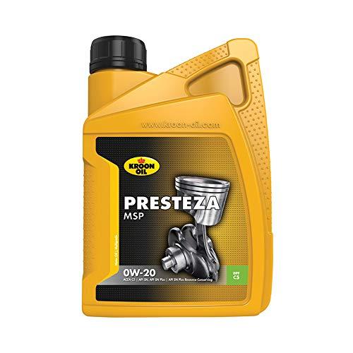 Kroon olie 1838227 Motorolie Presteza MSP 0W-20 1 Liter
