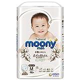 Couches culottes Moony Natural PM (6-10 kg) 46 psc//Japanese Pull Up Diapers Moony Natural PM (6-10 kg) 46 psc//японские трусики Moony Natural PM (6-10 kg)46 psc