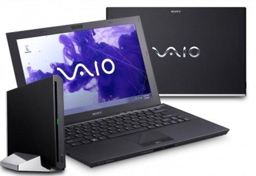 Sony Vaio Z23K9E/B 33,3 cm (13,1 Zoll) Laptop (Intel Core i7 2640M, 2,8GHz, 8GB RAM, 256GB HDD, Intel HD 3000,Win 7) schwarz