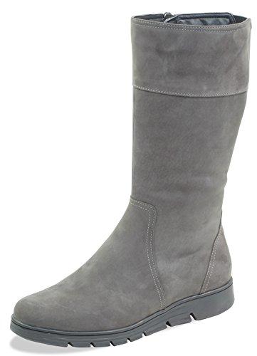 Caprice Damen 9-9-26617-21 232 Stiefeletten, Grau (Dk Grey Nubuc 232), 40 EU