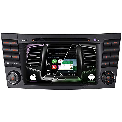Android 10 Dual-Tuner Autoradio Eingebautes Android Auto+Carplay 2G+32G Rohm-DSP Bluetooth 5.0 7
