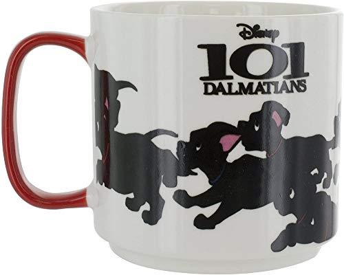 Paladone–101Dalmations Calor Cambio Taza, cerámica, Multi, 9x 12x 9cm