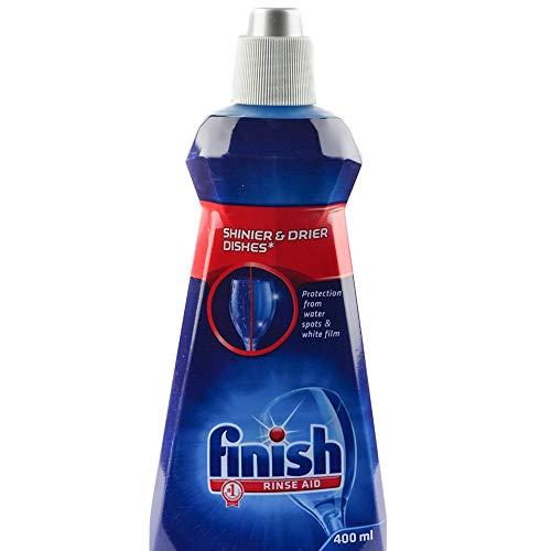 Finish Dishwasher Rinse Aid, Shine & Dry - 400 ml
