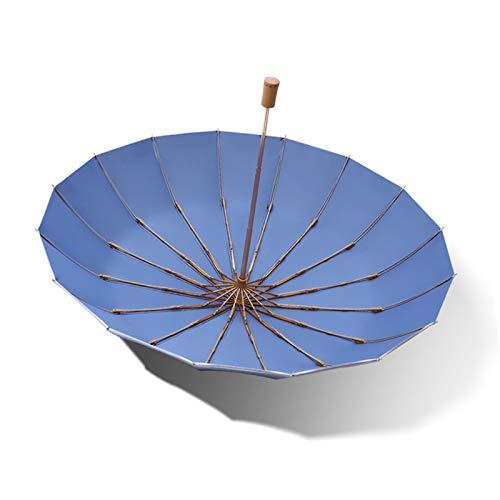 L1 Paraguas de Viaje Plegable Compacto, Paraguas triplicado