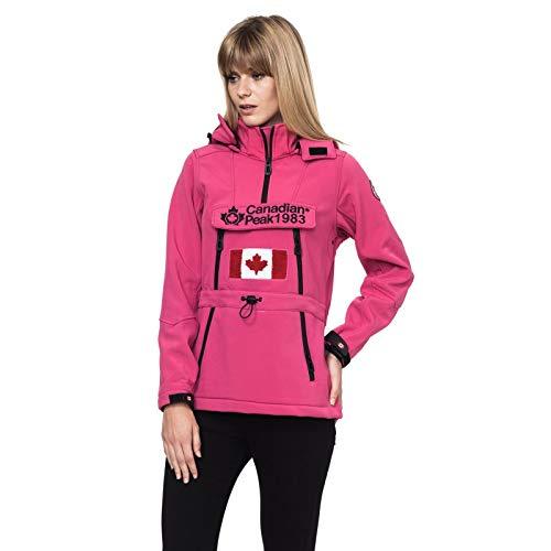Canadian Peak | Abrigo - 100% Algodón - Todas Las Temporadas 2018 - Mujer | Lila | M (2)