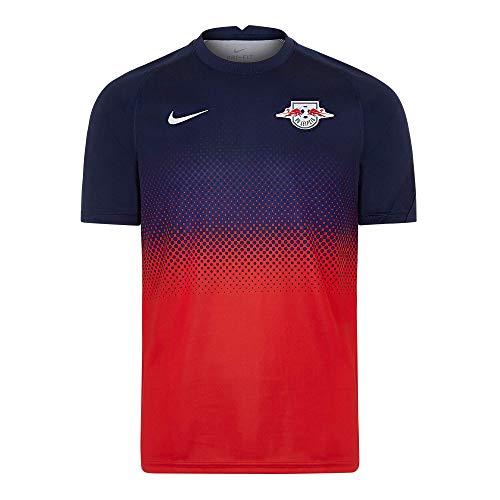 RB Leipzig Warm Up T-Shirt, Herren Medium - Original Merchandise