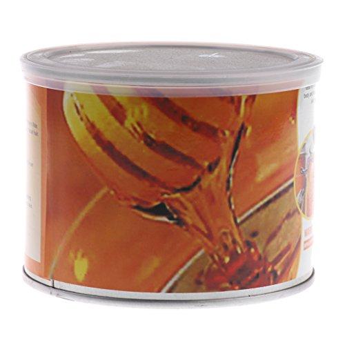 sharprepublic 400g Spa Dépilatoire Film Dur Chaud épilation Du Corps épilation à La Cire Miel Saveur - Saveur de miel