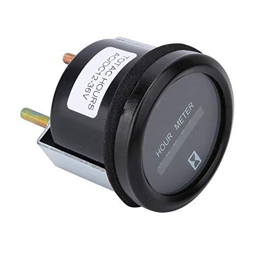Qinlorgo Betriebsstundenzähler Wasserdichter Blinker Betriebsstundenzähler für Engineering Vehicle Generator 0-99999.9