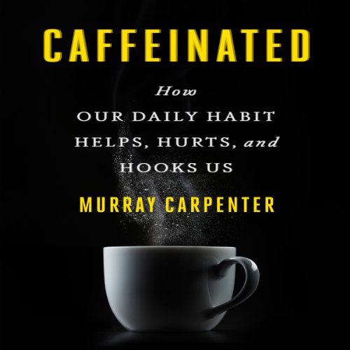 Caffeinated audiobook cover art