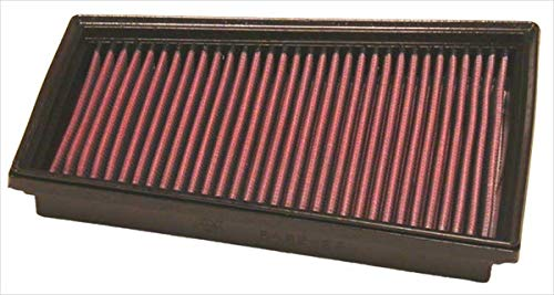 K&N 33-2849 Filtro de Aire Coche, Lavable y Reutilizable