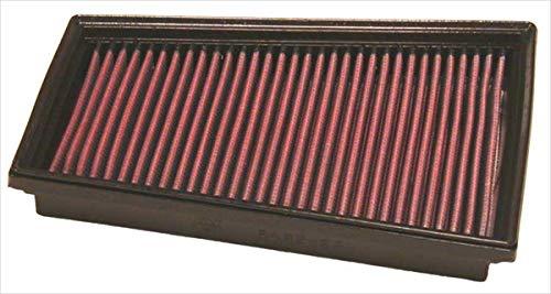 K&N 33-2849 Filtre à Air du Moteur: Haute Performance, Premium, Lavable, Filtre de Remplacement, Plus de Pouvoir, 2002-2019 (Citan, Citaro, Kangoo, SAMSUNG SM3, Megane, Scenic, Fluence)