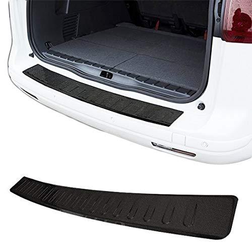 Premium Edelstahl Ladekantenschutz Schwarz für W639 Vito/Viano (Modelle 2003-2014)