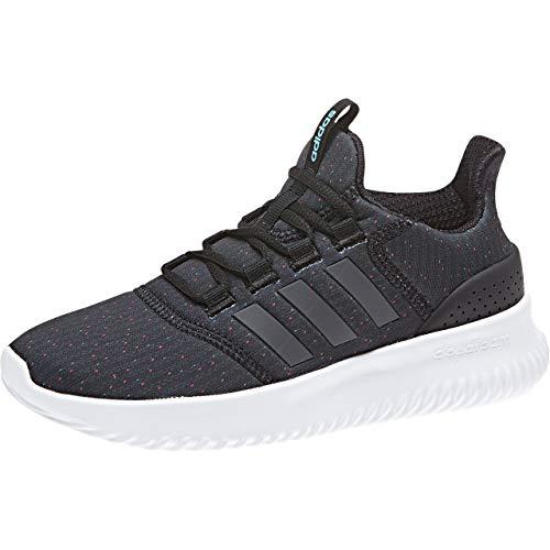 adidas Cloudfoam Ultimate, Zapatillas de Entrenamiento Unisex Niños, Negro (Cblack/Carbon/Brcyan Cblack/Carbon/Brcyan), 36 2/3 EU