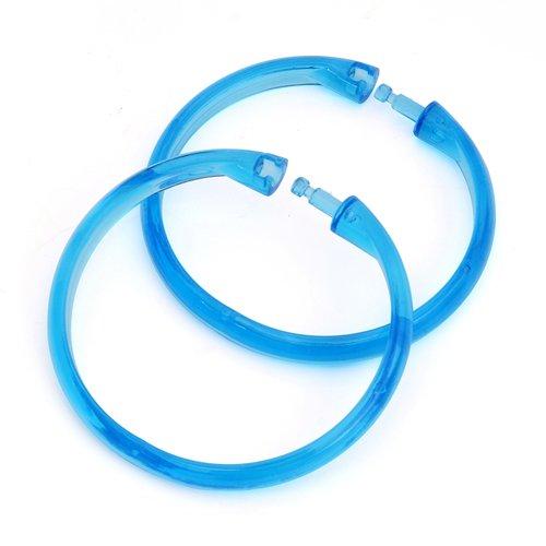 LBBJJ Heren Tie Windproof sjaal haak-type sjaal stand sjaal stropdas rek drogen kleding opknoping sjaal cirkel plank ring hanger, 2, blauw heeft: stropdas, mode stropdas, eenvoudige stropdas, vintage stropdas.