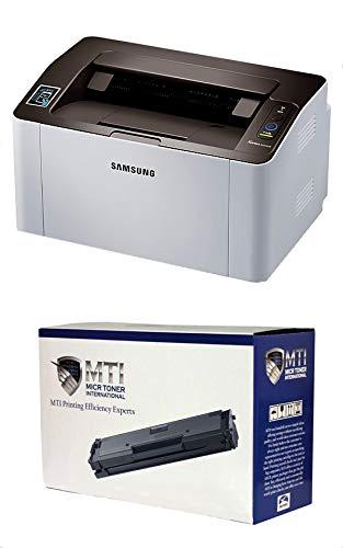 MICR Toner International Xpress M2020w Laser Check Printer Bundle with Compatible Samsung D111S